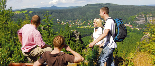 Wandern Naturpark Zittauer Gebirge