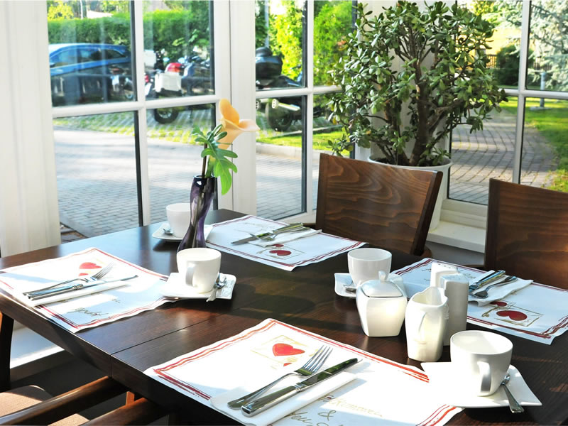 Restaurant Scholek in Zittau with winter garden